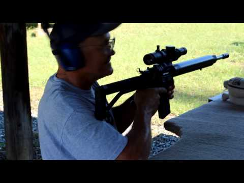 Explosion with AR15! Team Miculek's Sure Shot test for Shoot Fast with Jerry Miculek!