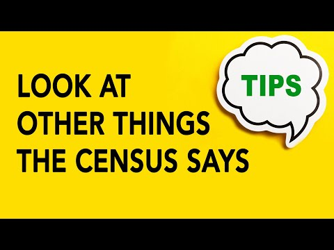 Genealogy Gold Tip #21 - Look at Other Things the Census Says