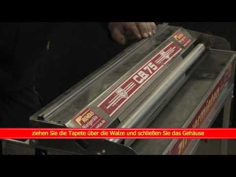 Video Kurzfilm Tapeziergerät