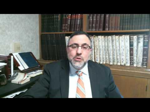 Video Vort - Mishpatim 5777 - Rabbi Etan Tokayer