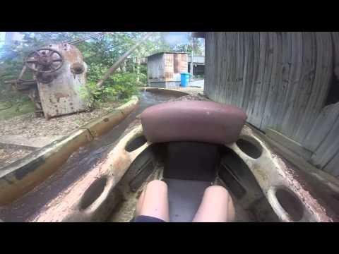 Rocky Hollow Log Ride Dreamworld Onride HD POV