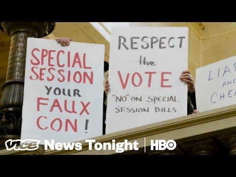 Wisconsin Republicans Are Trying To Strip Power From Newly Elected Democrats (HBO)