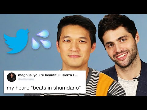 Harry Shum Jr. And Matthew Daddario Read Thirst Tweets