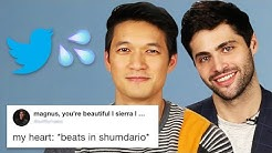 Harry Shum Jr. And Matthew Daddario Read Thirst Tweets