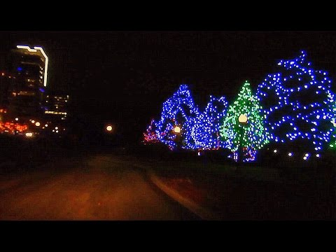 Ottawa Holiday Drive in Canada'a National Capital Region (with music)