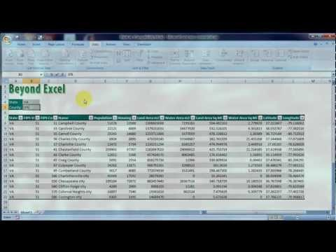 Beyond Excel: Parameterized Query