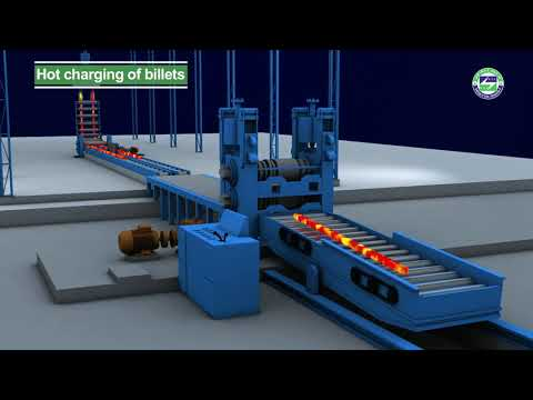 Steel Re-rolling Mill - Hot Charging of Billets