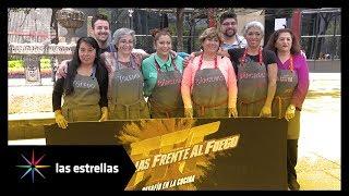 Participantes de 'Familia frente al fuego' promocionaron arranque del programa | Las Estrellas