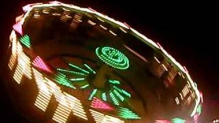 The Zero Gravity Thrillride at the St. Sebastian Church Festival