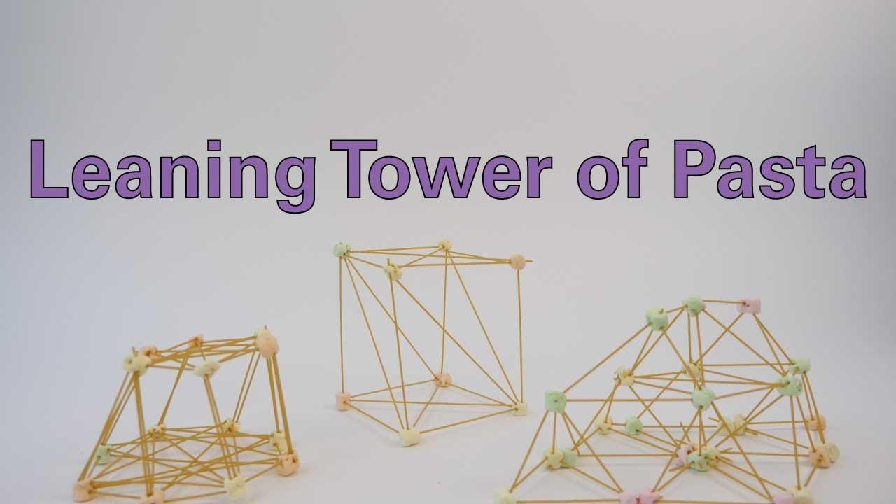 Leaning Tower of Pasta - Activity - TeachEngineering