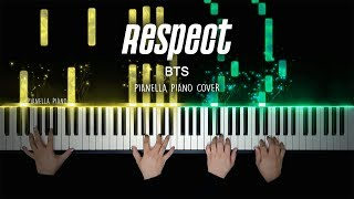 Download lagu BTS - RESPECT | 4 HANDS Piano Cover by Pianella Piano