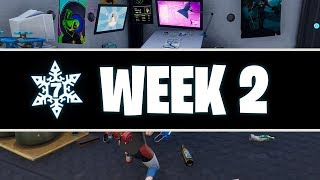 Fortnite: Secret SNOWFALL Banner Icon Location! (Season 7, Week 2)
