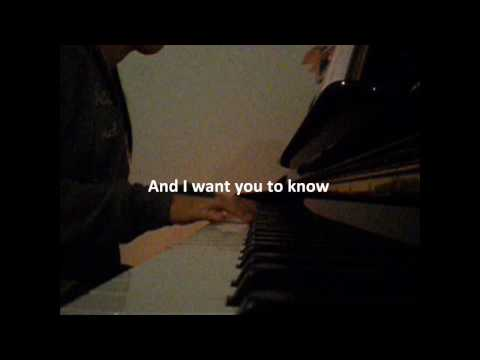 Be With You Akon Ft. Wilber Pan Piano Cover by Joey Fung (Lyrics)