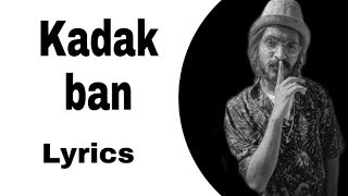 Emiway - Kadak ban Song lyrics