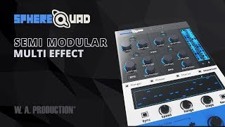 spherequad semi modular multi effect plugin vst vst3 au aax