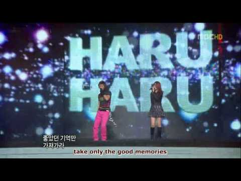 12-31-08 Wonder Bang - Special Stage on MBC Gayo Daejejun (english subbed)