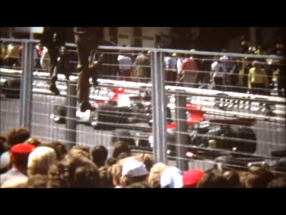 super 8 film formel 1 alter n rburgring 1973 1974 start und ziel f1 at the start area. Black Bedroom Furniture Sets. Home Design Ideas