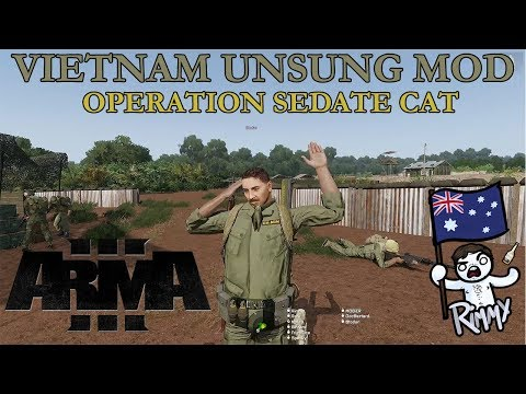 ArmA 3 Vietnam Unsung Mod - Operation Sedate Cat w/ SOCOMD