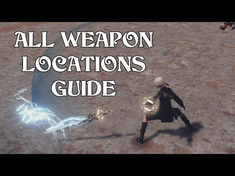 NieR: Automata - All Weapon Locations Guide
