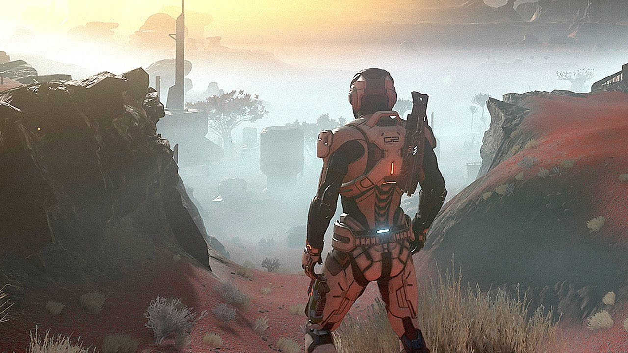 Mass Effect Andromeda Gameplay Story Trailer Ps4 Pro Xbox One Pc Game Youtube