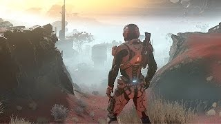 MASS EFFECT ANDROMEDA Gameplay Story Trailer (PS4 Pro, Xbox One, PC)