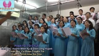 Video Bài hát PHẬN TÔI TỚ CHÚA