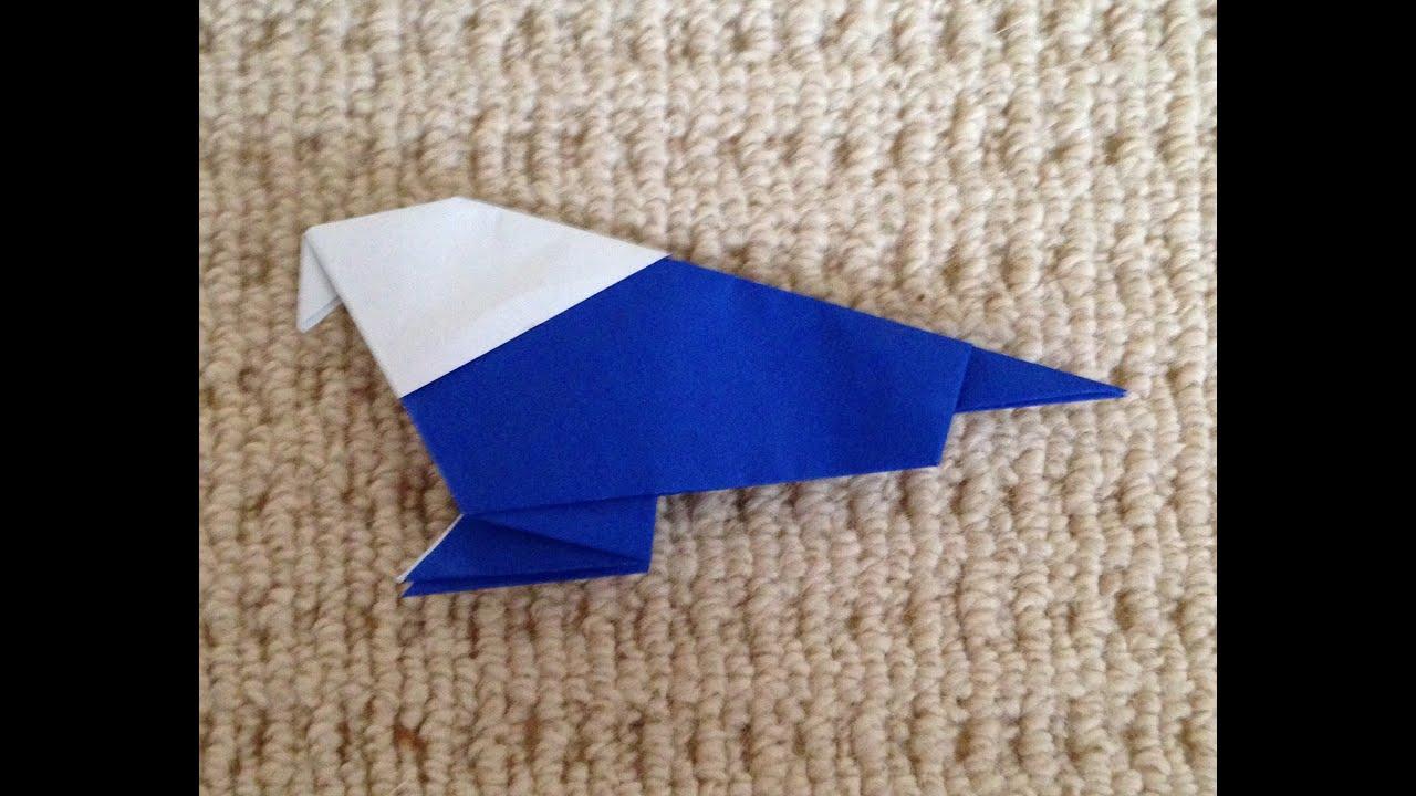 折り紙の いろいろな折り紙の作り方 : 折り紙 鳥 折り方 作り方 How to ...
