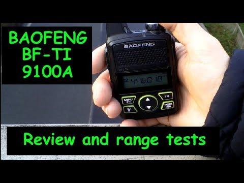 Baofeng T1 Mini Radio - 446 Mhz PMR - 2018 Review