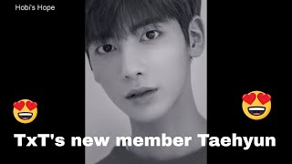 BigHit's New Boy Band member Taehyun #TxT
