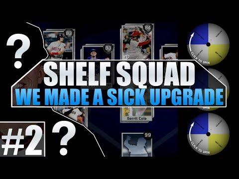 NEW UPGRADE! SHELF SQUAD #2 MLB THE SHOW 17 DIAMOND DYNASTY!