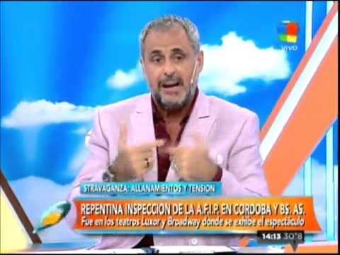 """Jorge Rial a Flavio Mendoza: """"Yo no manejo la AFIP, lo único que manejo es mi auto"""