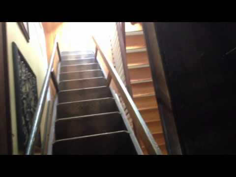 Incroyable Antique Attic Ladder! Antique Attic Stairs! My Retractable ...