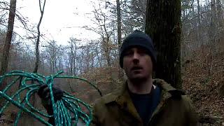 Improvised Rope Hammock