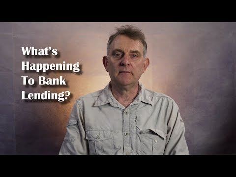 What's Happening To Bank Lending?