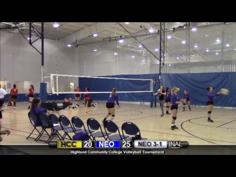 Highland Volleyball Tournament- Highland vs. Northeast Oklahoma