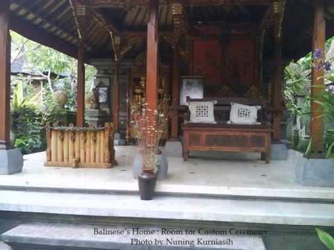 Balinese's Home (Rumah Adat Bali) in Nyuh Kuning Ubud, Gianyar, Bali