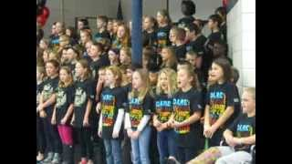 Geggie Elementary 5th Grade D.A.R.E. Graduation Song