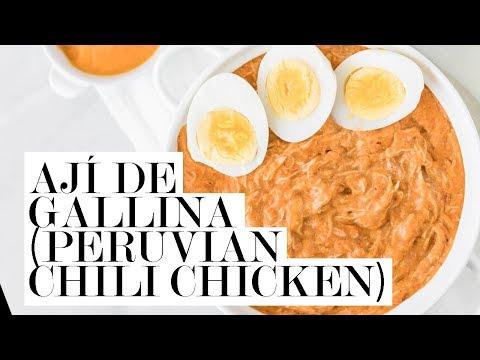 Ají de gallina (Peruvian Chili Chicken) | Cravings Journal