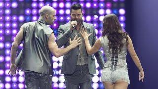 Ricky Martin - Come with me - Palacio de los deportes México (04-oct-2014)