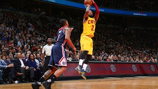 LeBron James and Kyrie Irving