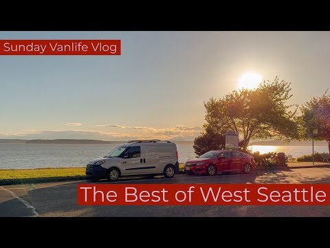 The Best of West Seattle Sunday Vanlife Vlog