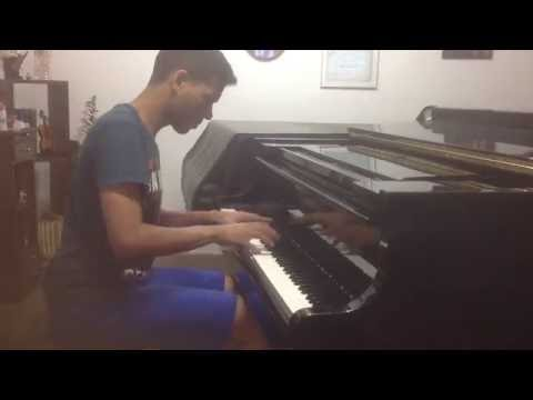 Mozart- Piano sonata in C minor, k 457 - 1st mov.  Gabriel Freitas
