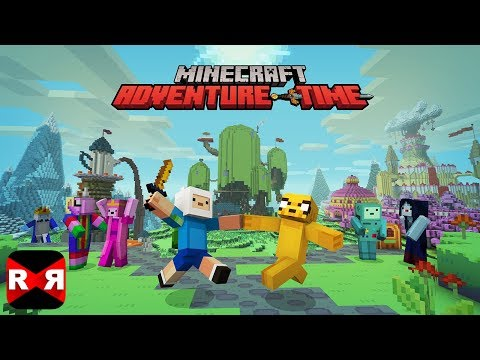 Minecraft: Pocket Edition - ADVENTURE TIME Map With Finn and Jake - Walkaround Gameplay