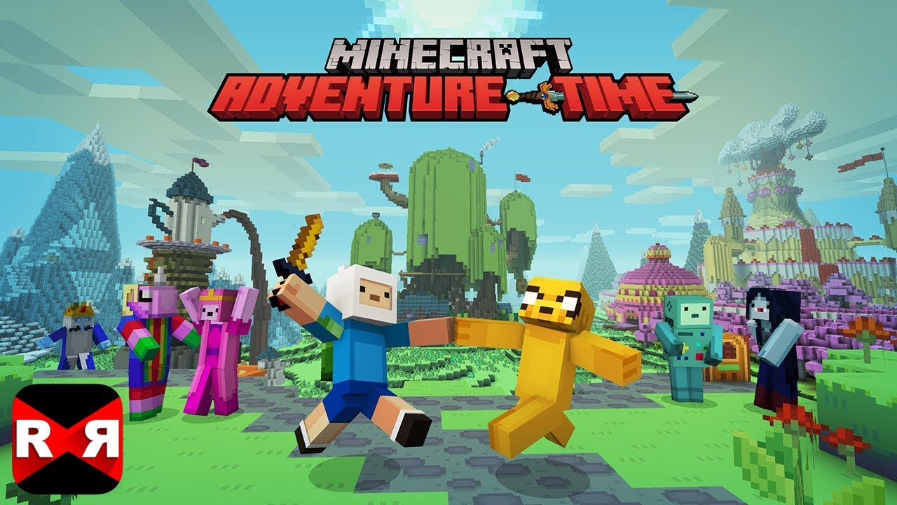 Minecraft: Pocket Edition - ADVENTURE TIME Map With Finn and Jake ...