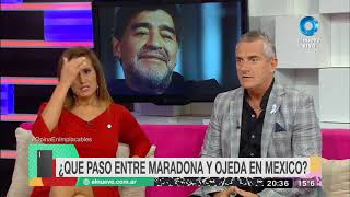 ¿Qué pasó entre Maradona y Verónica Ojeda en México?