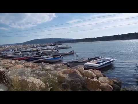 Рыбацкое пристанище в Бяле Болгария