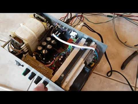 TDA7294 puls LM1036 test (HUN)