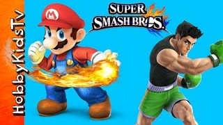 Super Smash Brothers Nintendo 3DS Fun! by HobbyKidsTV