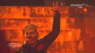 Slipknot - Spit It Out + Jump The Fuck Up - Rock Am Ring 2015 HD