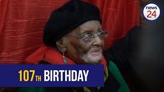 WATCH: ANC hails 'selfless leader' Mama Kotane as she celebrates 107 years